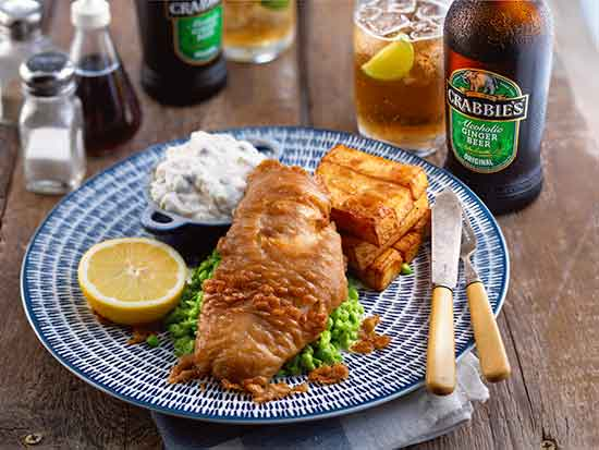 Crabbies Fish and Chips