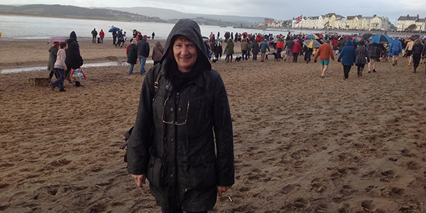Me on Exmouth beach
